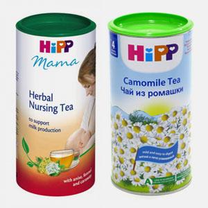 Как выглядит чай HIPP