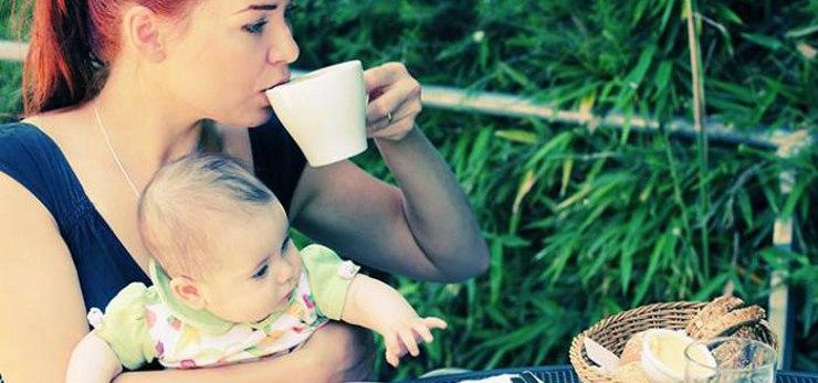 Кофе при грудном вскармливании