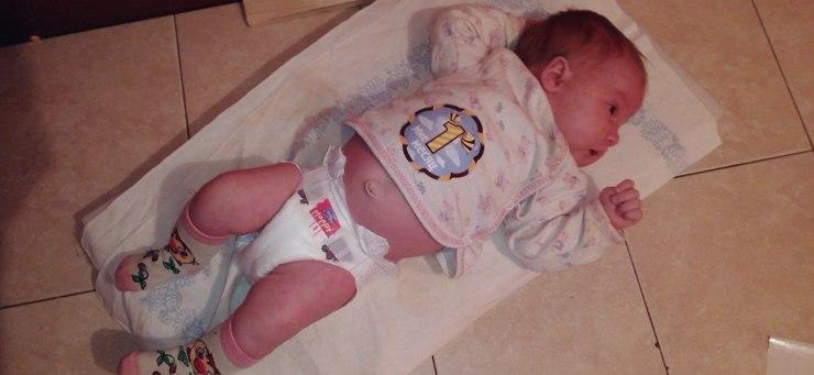 Развитие ребенка в первый месяц