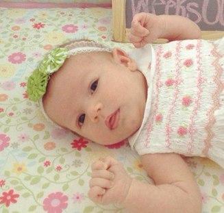 Навыки младенца в 1 месяц