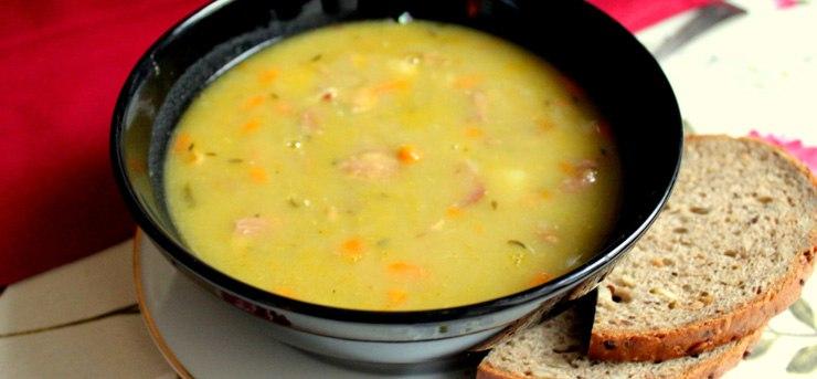 Когда давать гороховый суп ребенку