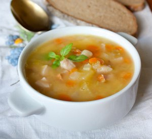 Рецепт горохового супа для ребенка до года