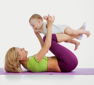 Гимнастика повышает иммунитет малыша