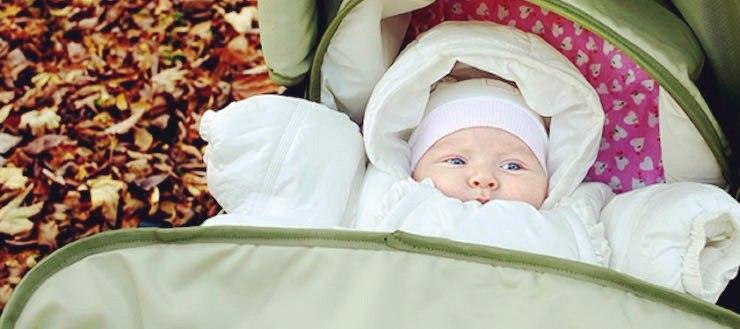 Как одевать новорожденного осенью