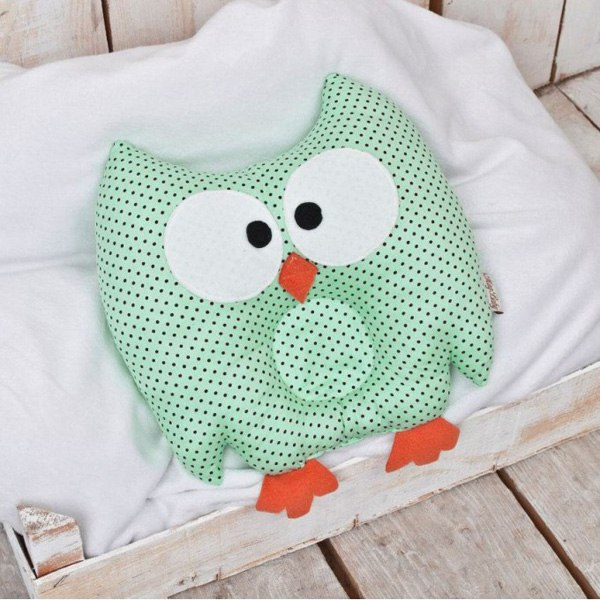 Как сшить подушку для новорожденного своими руками 84