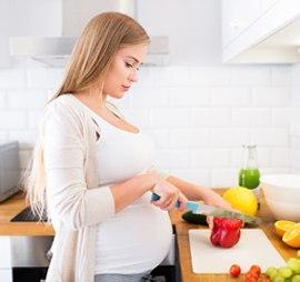 Питание женщины на девятой неделе