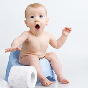 Не ругайте ребенка во время приучения к горшку